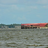 Golden Ray Disaster Scenes in St. Simons Sound on 09-13-19