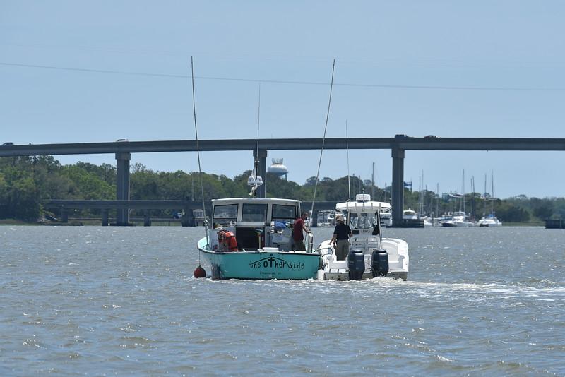 Jekyll Island Boat Tours Dolphin Tour 04-19-18