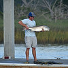 Jekyll Island Boat Tours - Red Fish caught off Jekyll Boat Ramp Dock 10-26-19