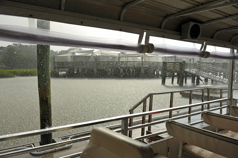 Jekyll Wharf Rainstorm 08-27-19