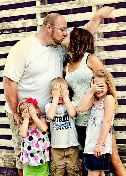 Jen  & Bob's Family