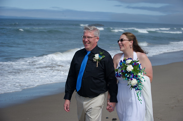 Jen & Mike, Oregon Coast, August 10th