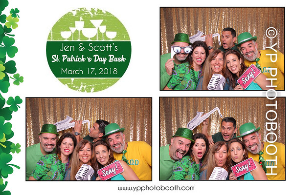 Jen & Scott's St. Patrick's Day Bash