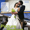 This is the cover of the Spring 2009 issue of Real Maine Weddings featuring Jen and Andy's wedding