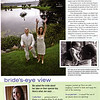 This is the story of Jen and Andy's wedding as it appeared in Real Maine Weddings Spring 2009 issue Page 3