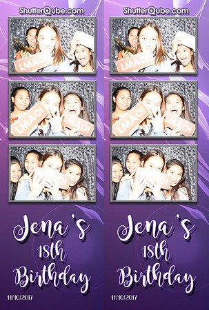 Jena's 18th Birthday 11-10-17 Noah's Event Venue