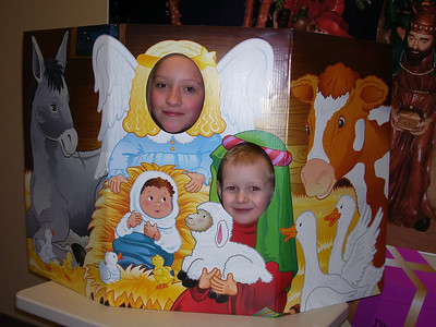 Jenna and Aidan church 12/09