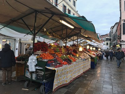 Fresh Market in Venice