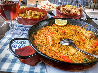 Tapas and Paella in Barcelona