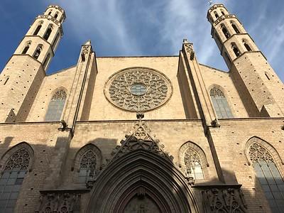 Basilica de Santa Maria Barcelona