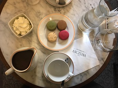 Hot Cocoa and Macaroons
