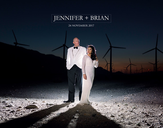 Jennifer + Brian Wedding Album