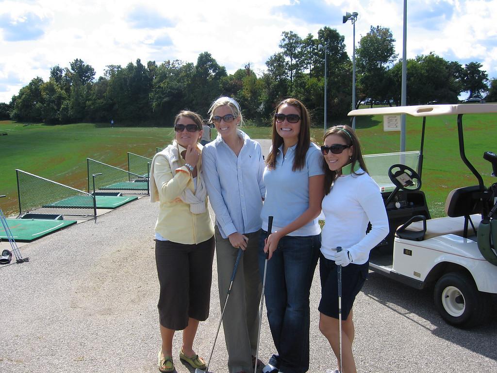 Katie, Abbie, Emily and Jen