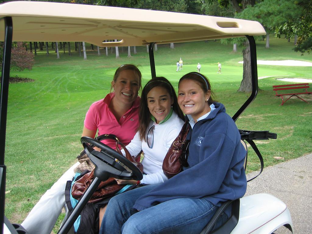 Meg, Jen and Emily