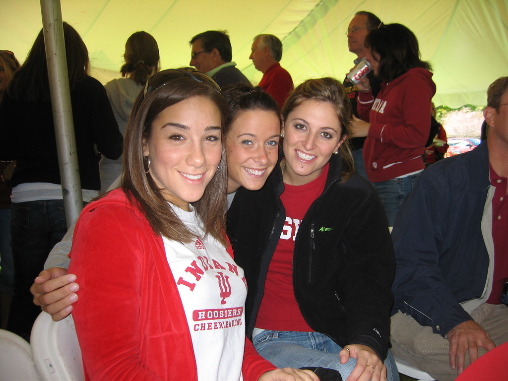 Jen, Katie and Elizabeth