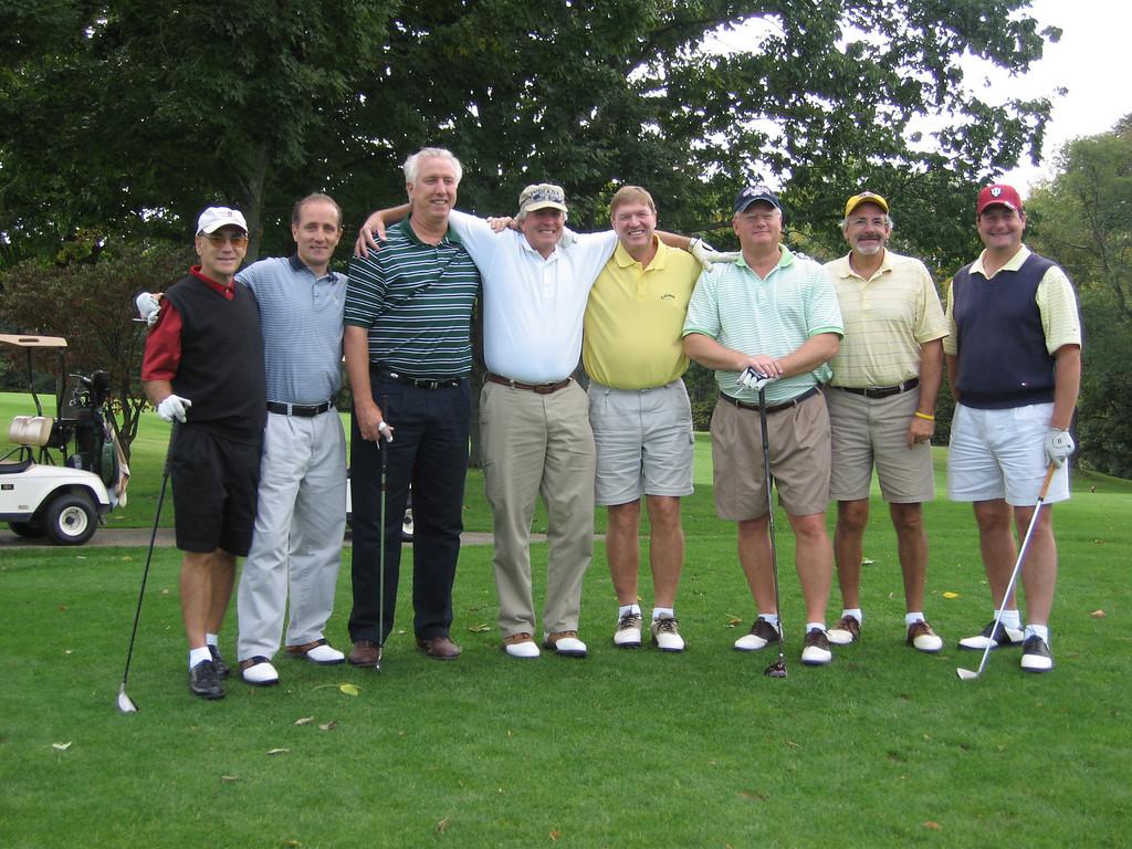 Harvey, Steve, Dave, Jack, Bruce, Steve, Keith and Norm