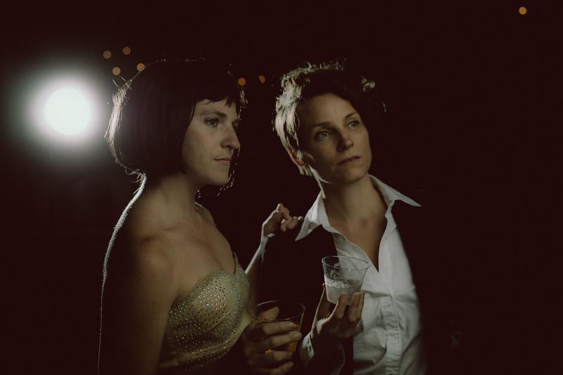 Jennifer Sherburn and Amy Myers
