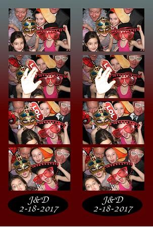 Jennifer and Drews Wedding 2-18-17