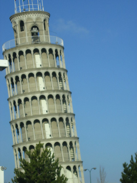 leaning tower of ymca - i thought maybe i just had extreme jet lag