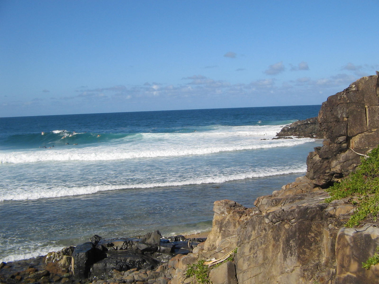 looking toward granite surf
