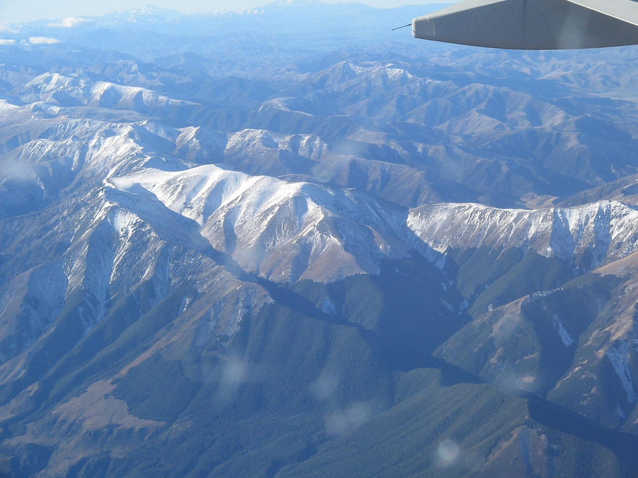 nz from the plane