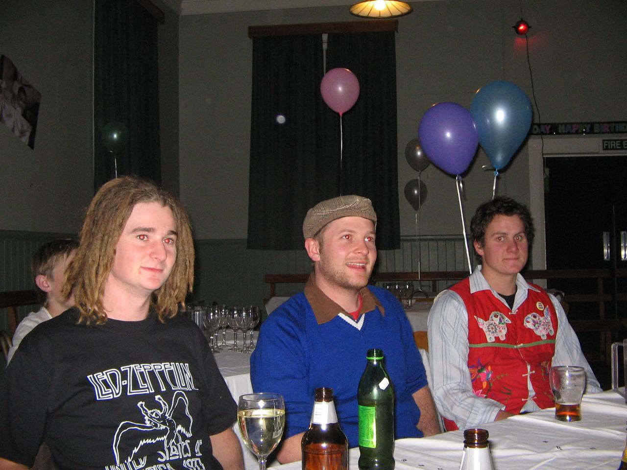 mitch, steve and parky