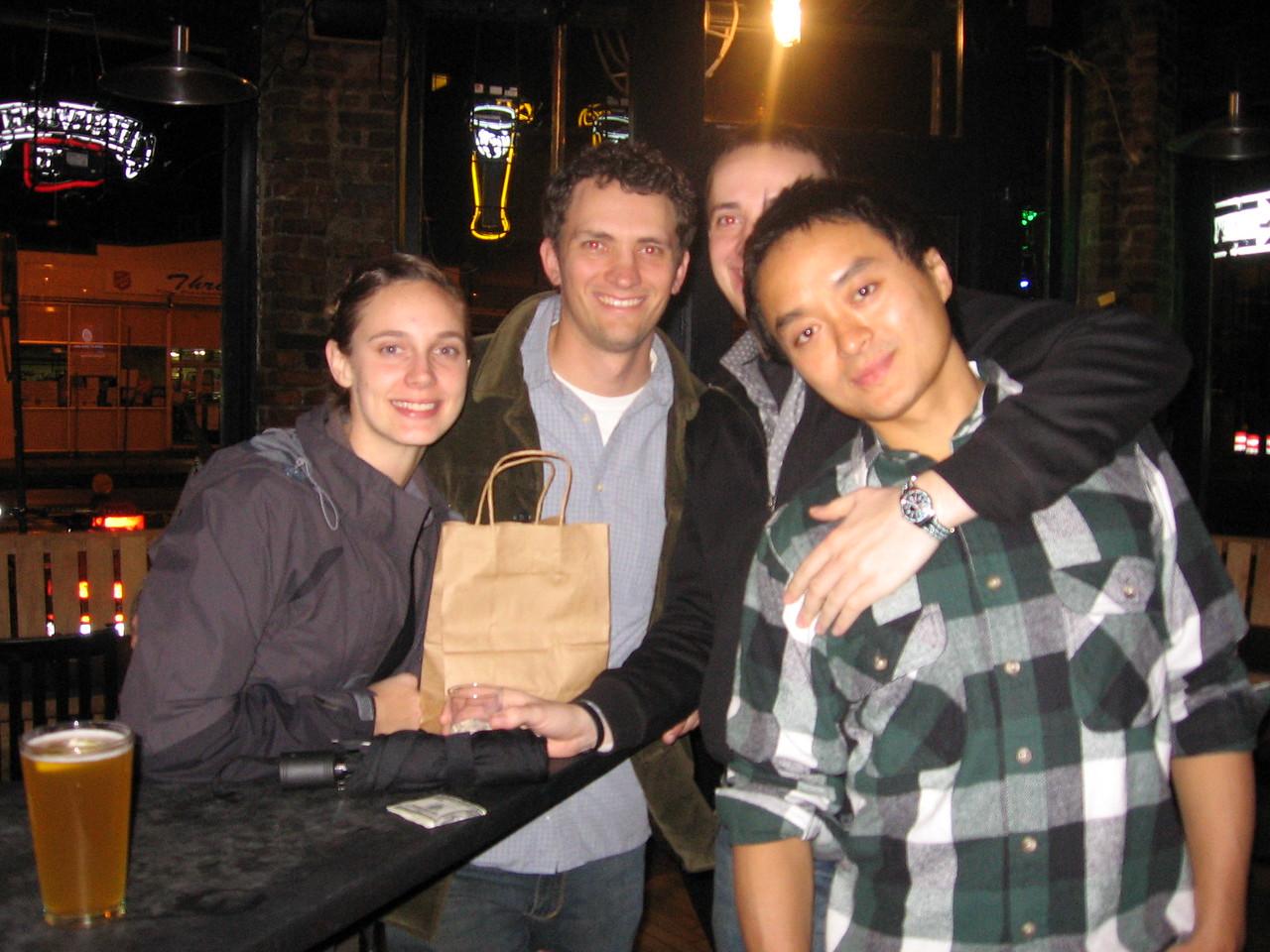 me, paul, eric and chris