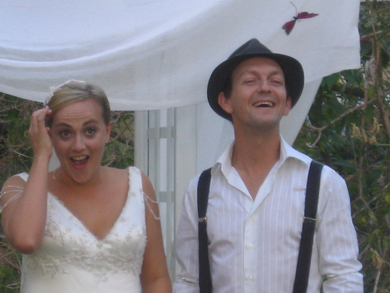duane and mon just revealed this wedding was a farse - they had been married a week before - liars!
