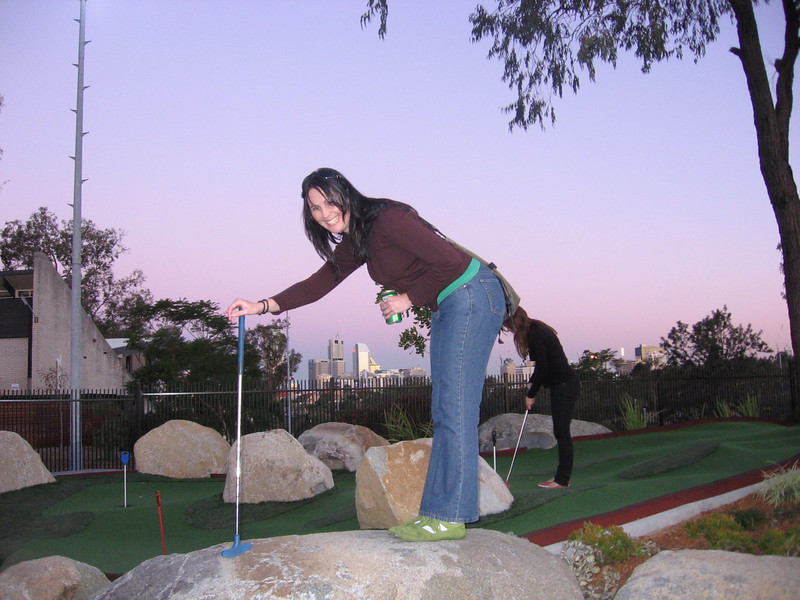 mons non-hen party drinking puttputt