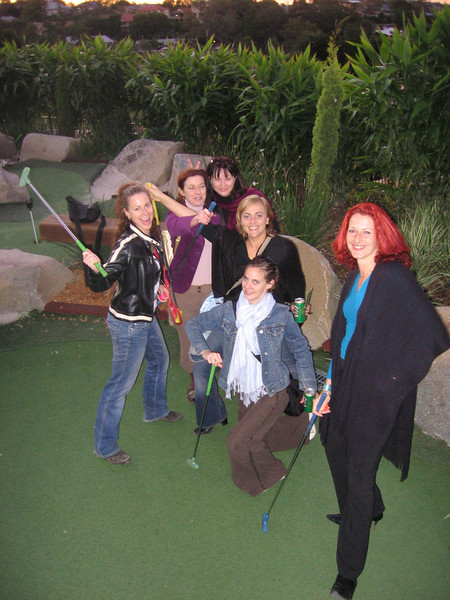 the putt putting team