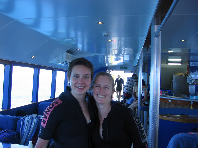 out on the great barrier
