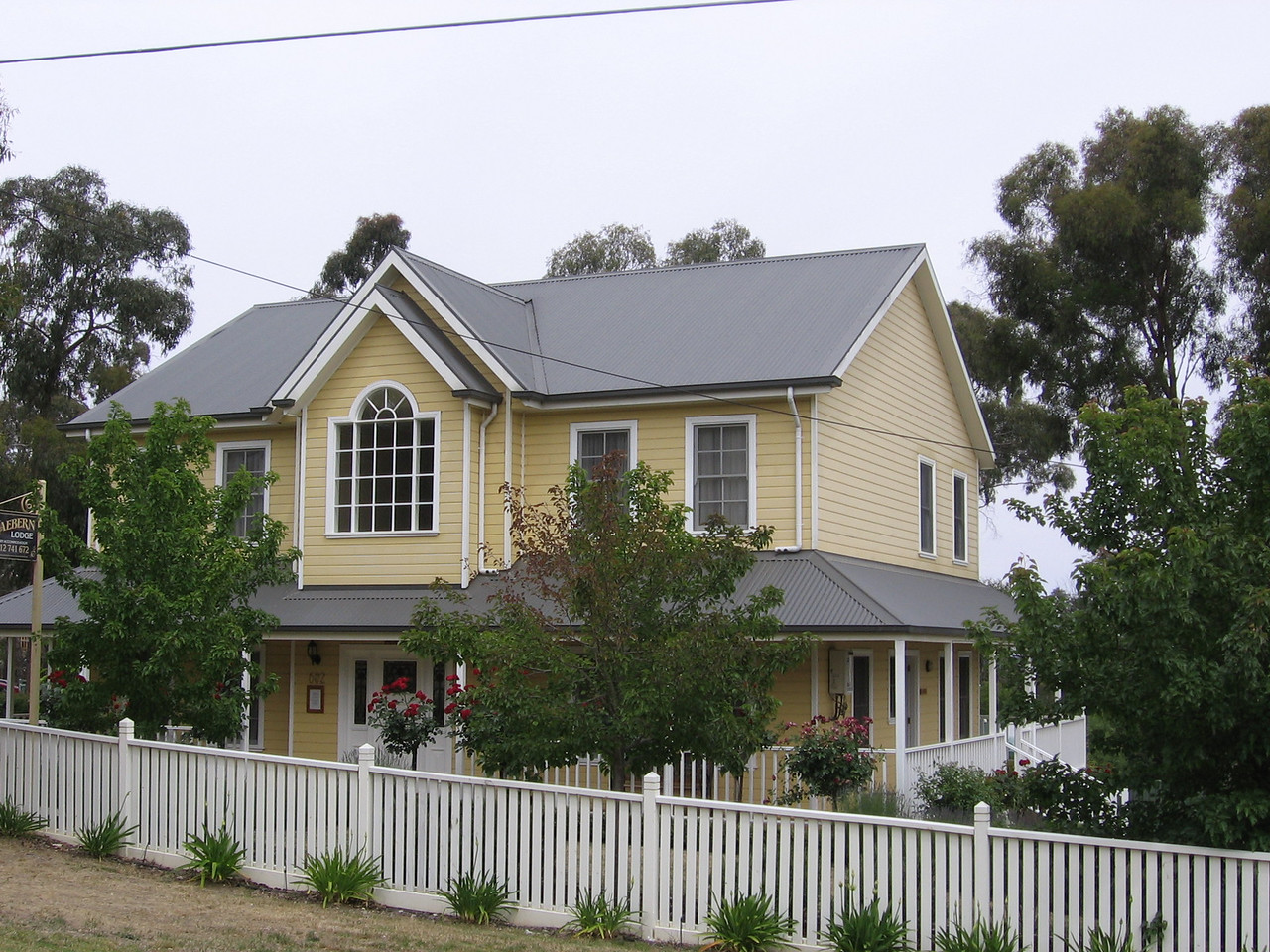 our grand accom the night in one road buninyong!
