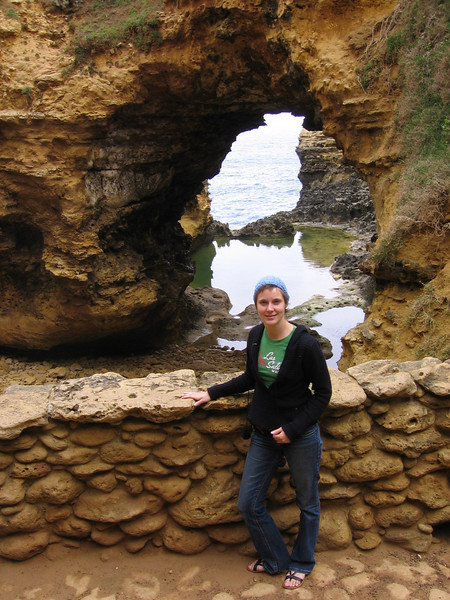 at the grotto (along the great ocean road)