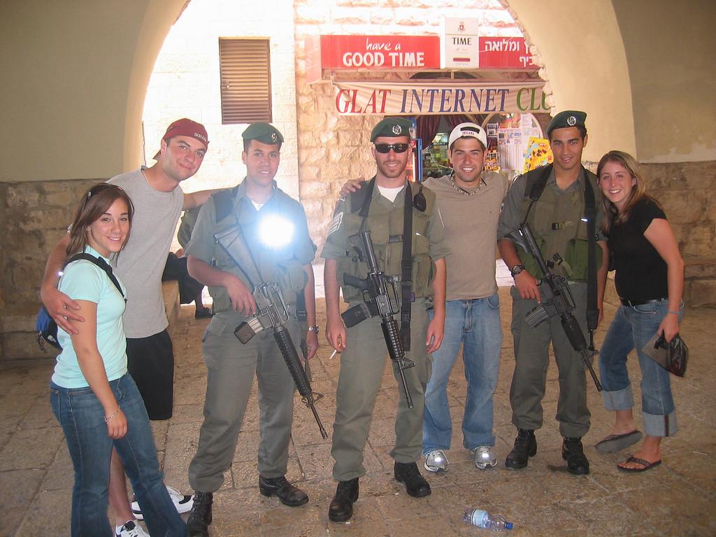 Israeli soldiers!