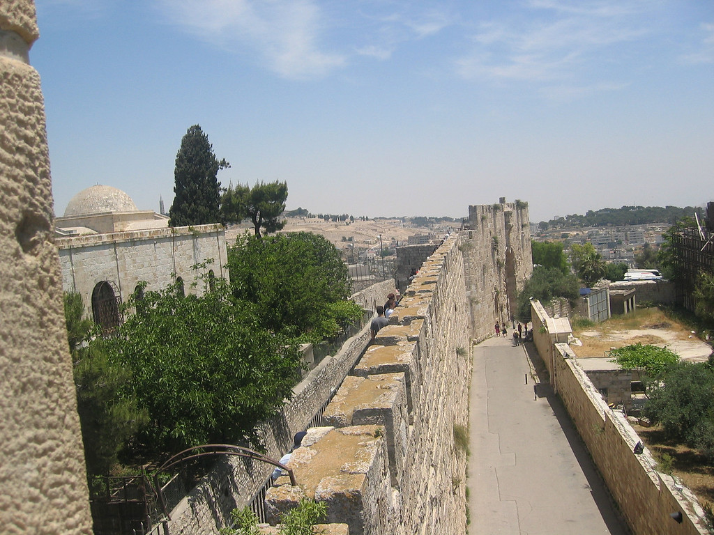 the wall around the city