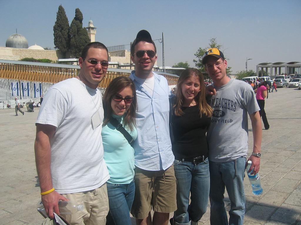 Michael, me, Rafi, Jamie, Phil!
