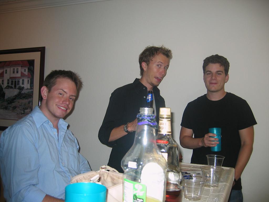Andy, JJK, Jordan
