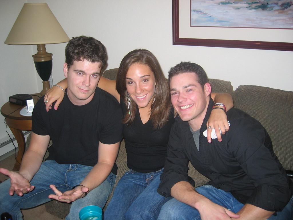 Jordan, me, Mark