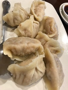 Steamed dumplings!