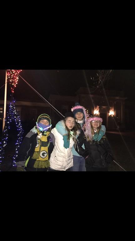 Michela, Tara, Sarah and Olivia