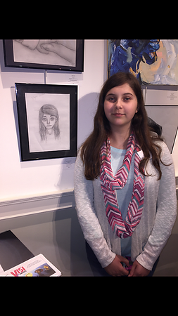 Sarah's first Art Show 3/9/2017<br /> Cape Cod Cultural Center  Yarmouth MA