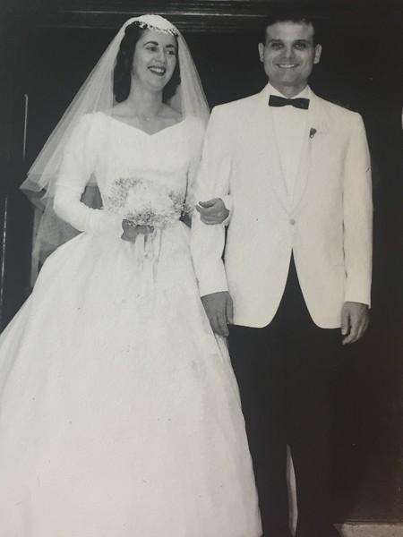 Doris and John~ Wedding Day