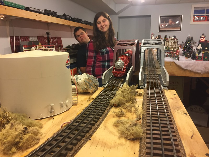 Opa's train room 12/2016