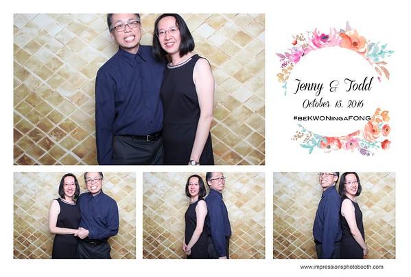 Jenny & Todd 10.15.16