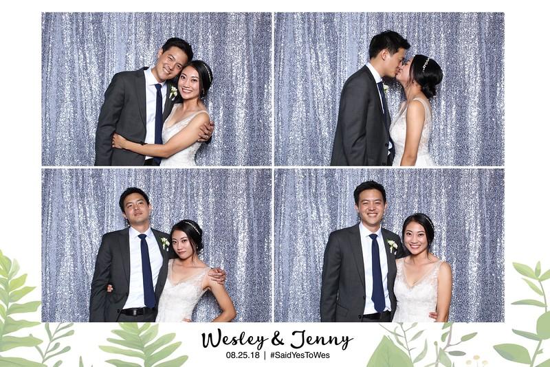 Jenny & Wesley Wedding (Studio Booth)