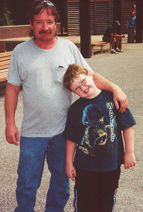 Greg and Thomas. Aug 2001
