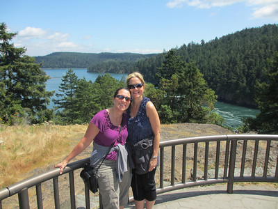 Deception Pass from the top...