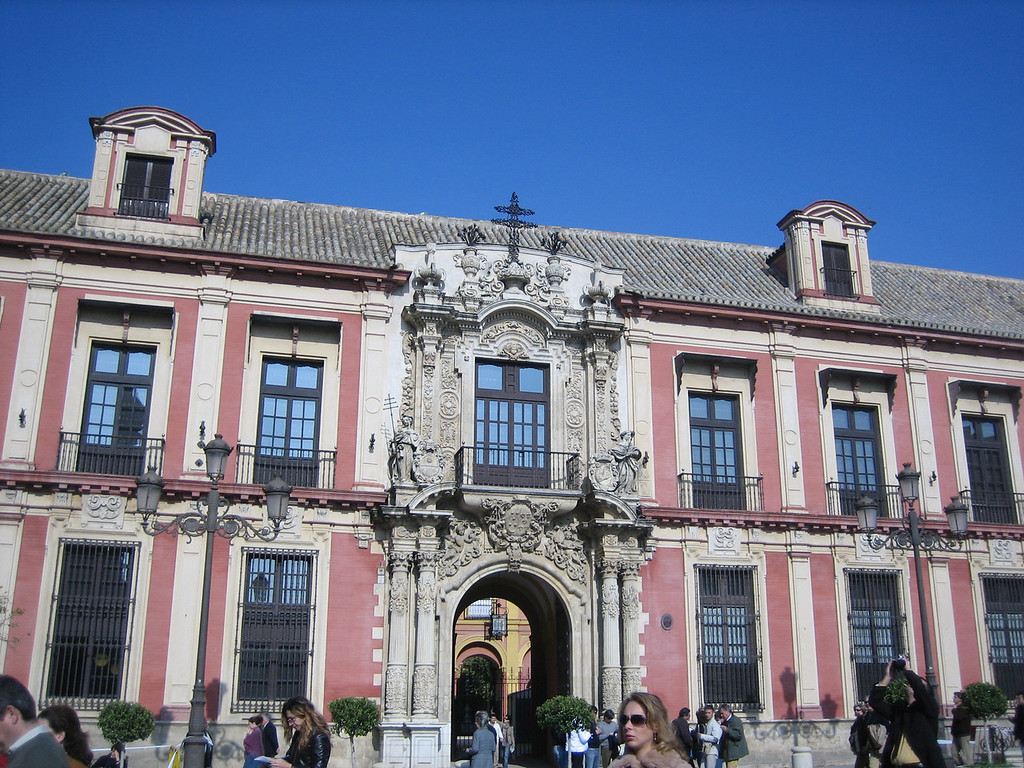 Bishop's house by the Catedral
