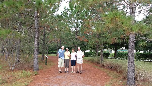 Jens og Karen Marie visit in Florida 2013