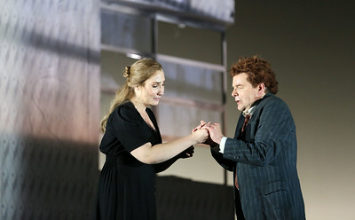 ENO Jenufa Laura Wilde and Peter Hoare 2 (c) Donald Cooper